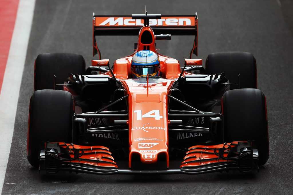 penalties Fernando Alonso McLaren