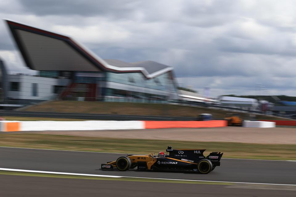 Nico Hulkenberg Renault British Grand Prix