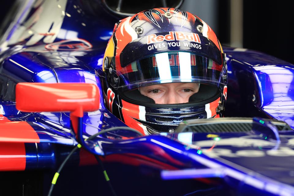 Daniil Kvyat Toro Rosso British Grand Prix Penalty