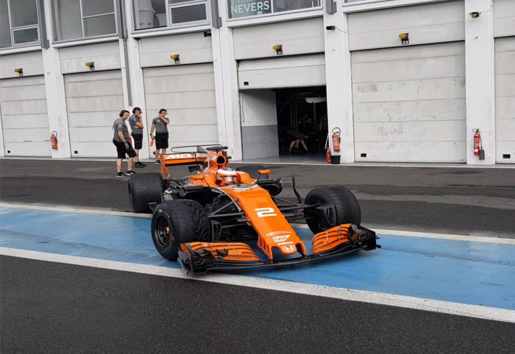 Pirelli Vandoorne