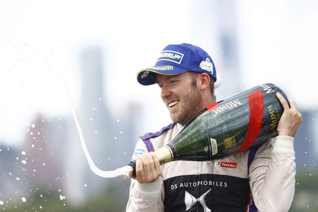 Sam Bird DS Virgin Racing New York ePrix
