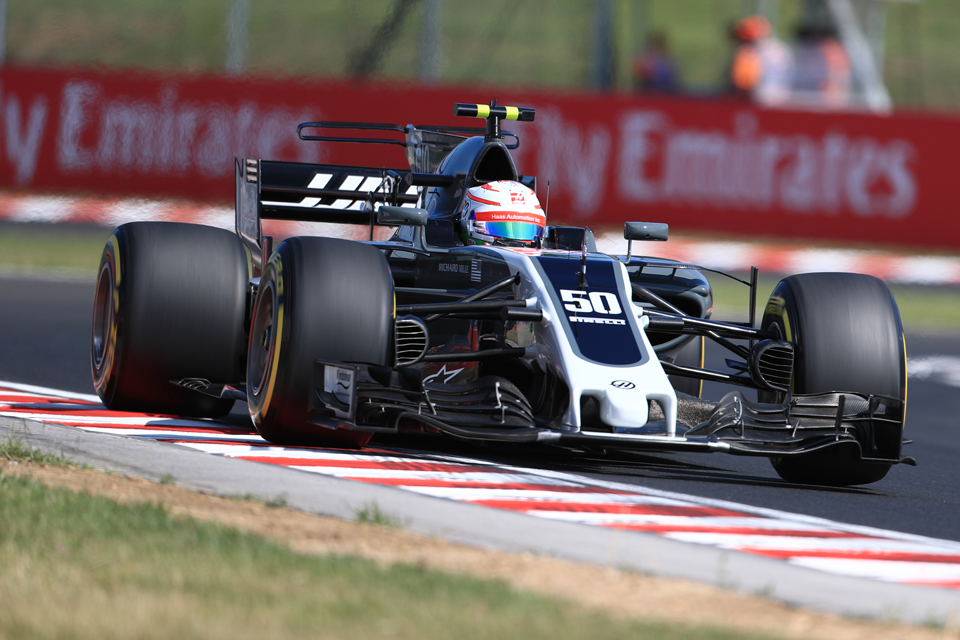 Antonio Giovinazzi Haas F1 Hungarian Grand Prix