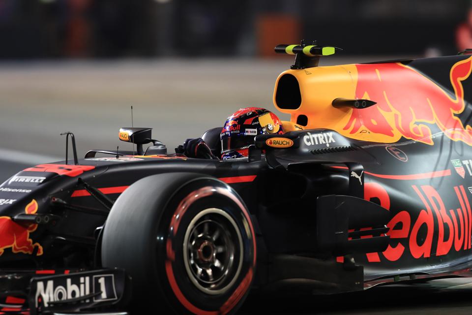 Max Verstappen Red Bull Racing Singapore Grand Prix