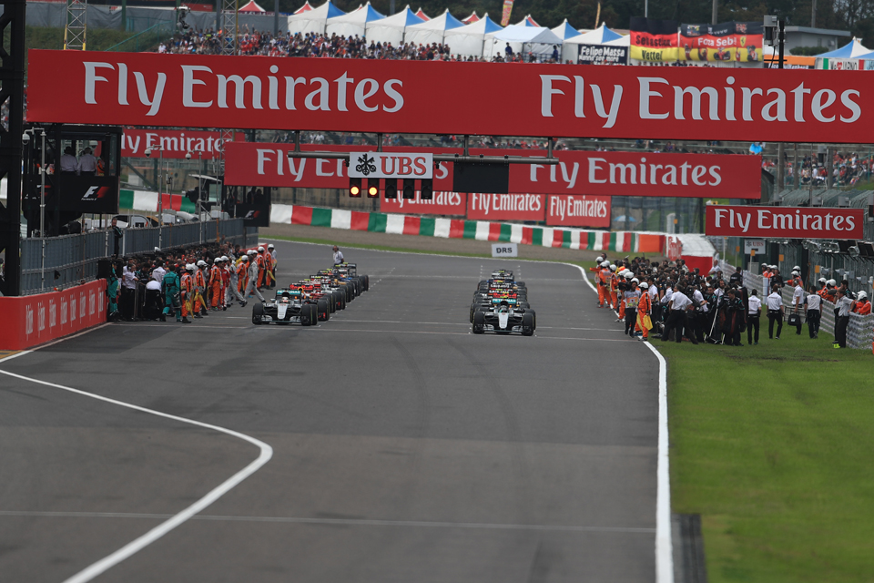 Japanese Grand Prix Grid
