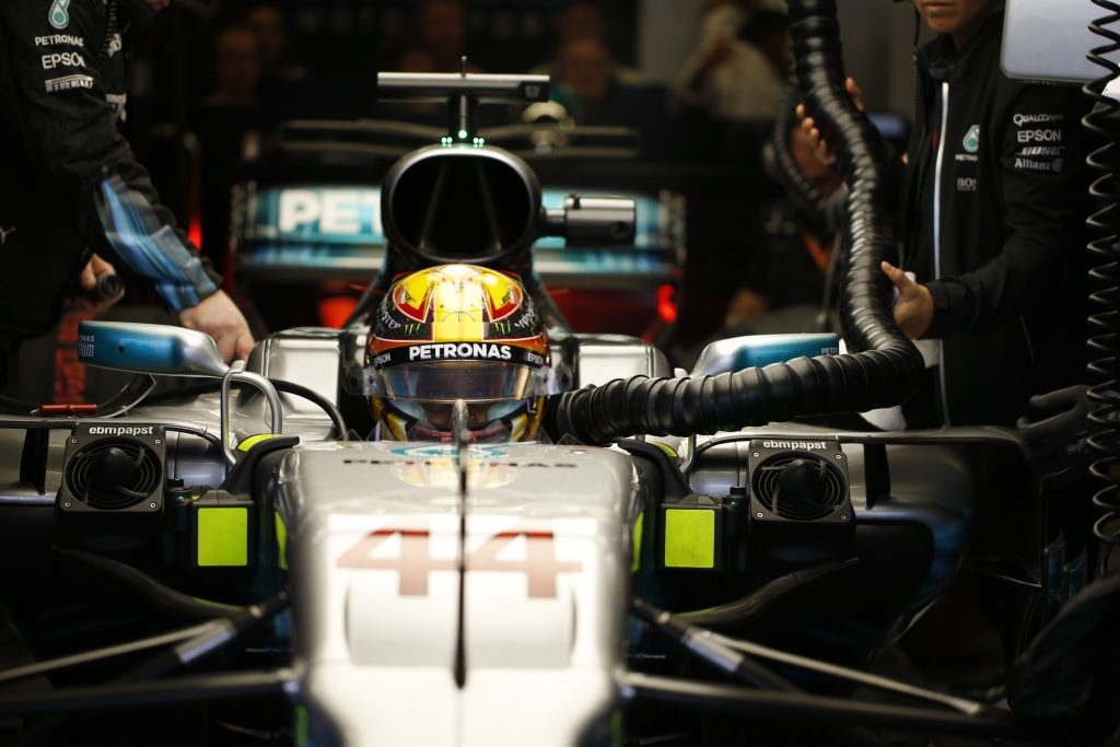 Hamilton leads Mercedes 1-2 in Brazil – FP1 Report