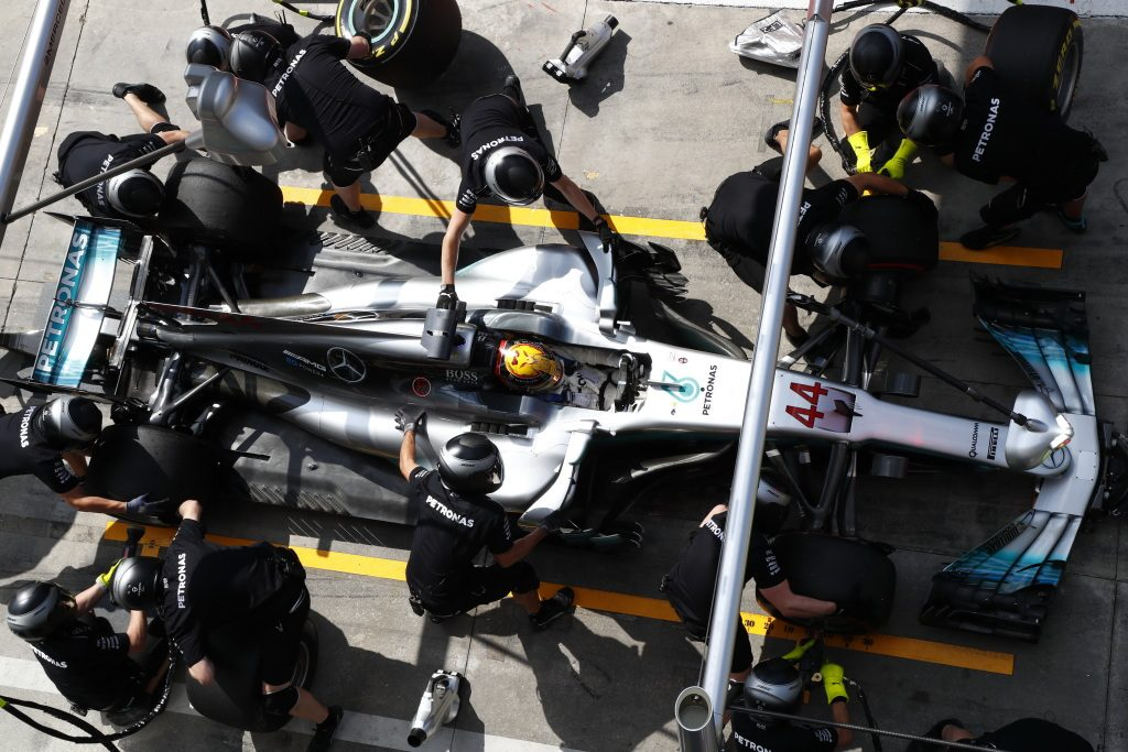 Hamilton remains on top in Friday practice – FP2 Report