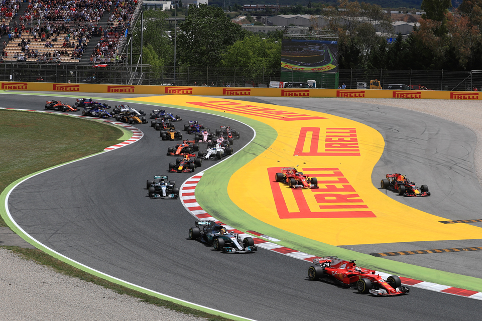 Spanish Grand Prix Start Formula One Barcelona
