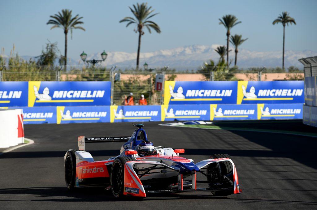Nick Heidfeld Marrakesh ePrix Mahindra Racing