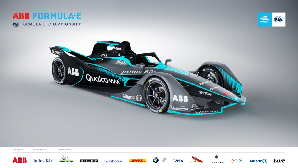 F1 - Formula E releases first images of striking second