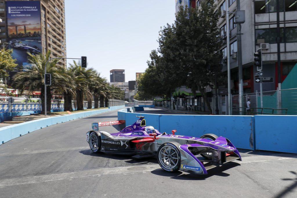 Sam Bird DS Virgin Racing Santiago ePrix