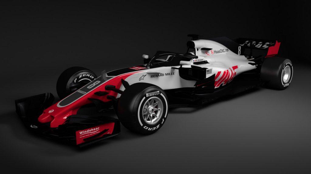 Haas F1 VF-18 2018 Car Launch