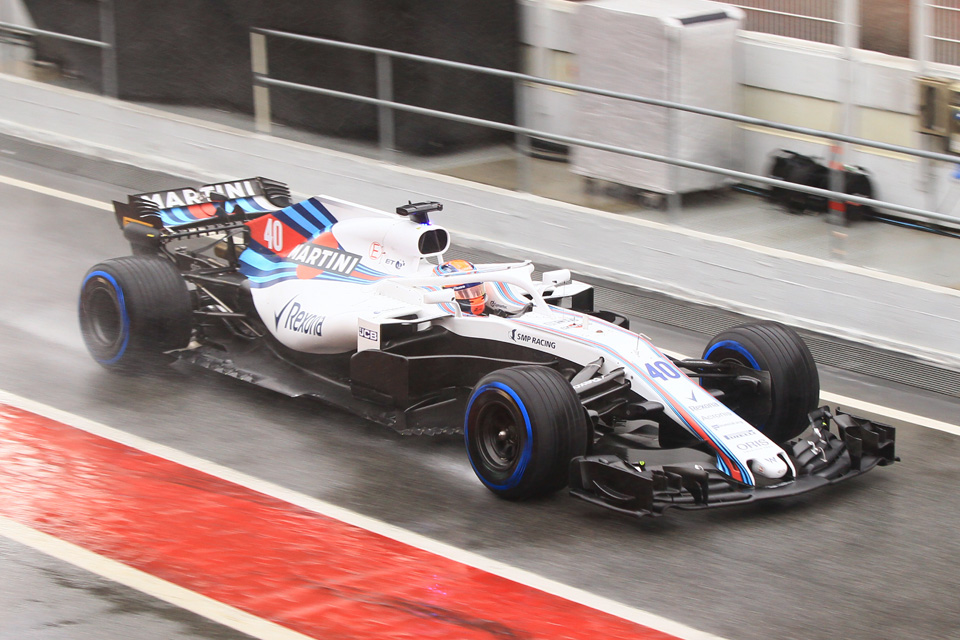 Robert Kubica Williams Circuit de Barcelona-Catalunya Testing