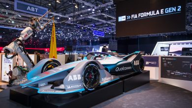 Photo of Formula E Gen2 car breaks cover at Geneva Motor Show
