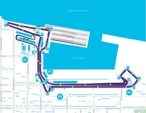 New York gets altered layout for 2018 Formula E race