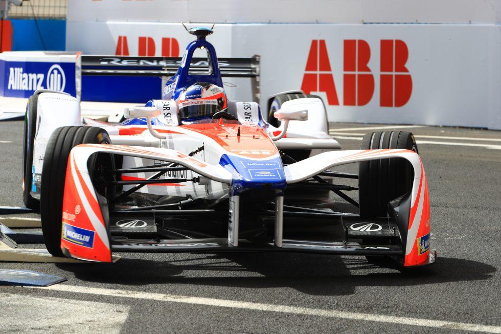 Suspension bolt failure caused Rosenqvist Rome retirement