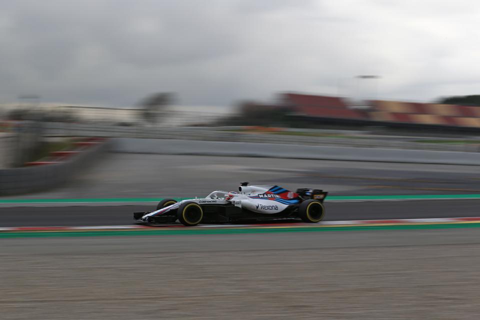 Kubica Williams testing
