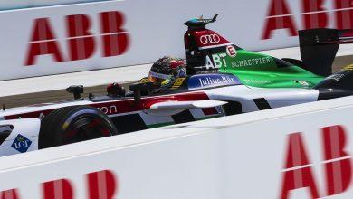 Photo of Abt leads Audi 1-2 in frantic Formula E Berlin race