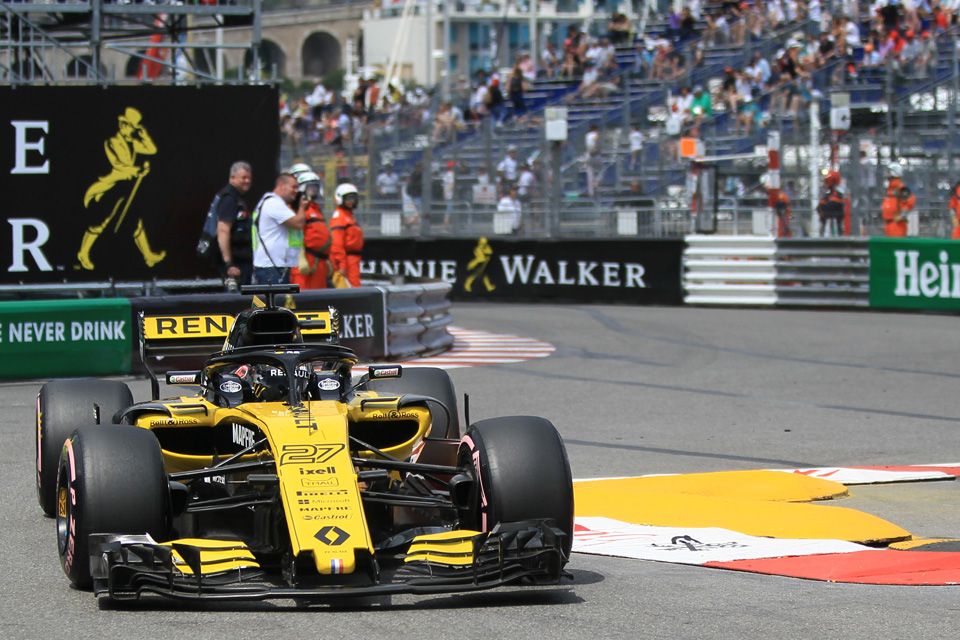 Renault Sainz Monaco