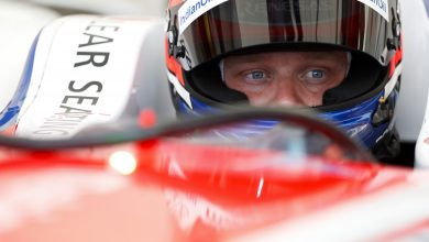 Photo of Rosenqvist ahead of Evans by 0.054s in second practice