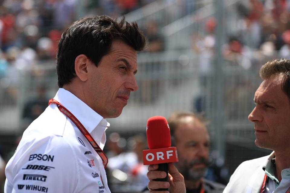 Toto Wolff Mercedes Canadian Grand Prix