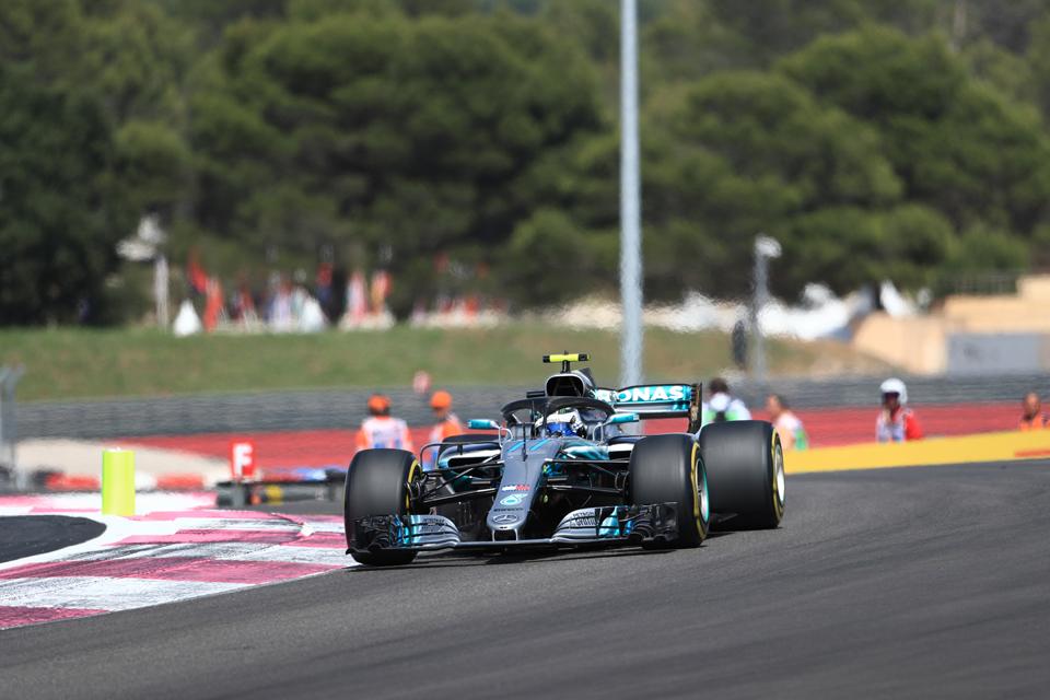 Valtteri Bottas Mercedes French Grand Prix