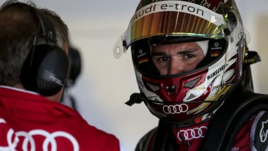 """Photo of Abt """"can't smile"""" after Audi team order miscommunication"""