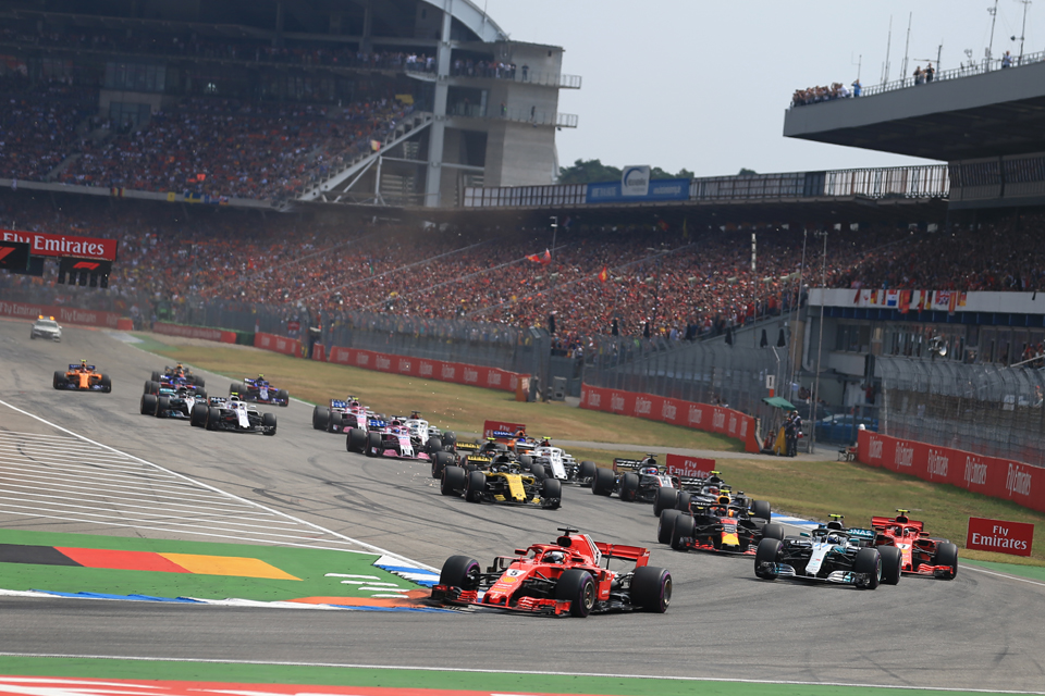 Race Results – 2018 German Grand Prix
