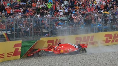 Photo of Vettel 'disappointed' by German GP DNF