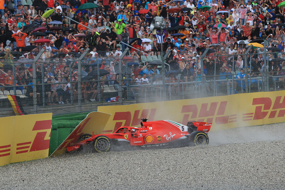 Vettel 'disappointed' by German GP DNF