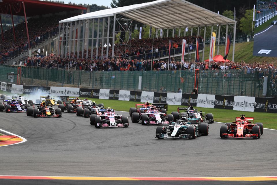 Race Results – 2018 Belgian Grand Prix