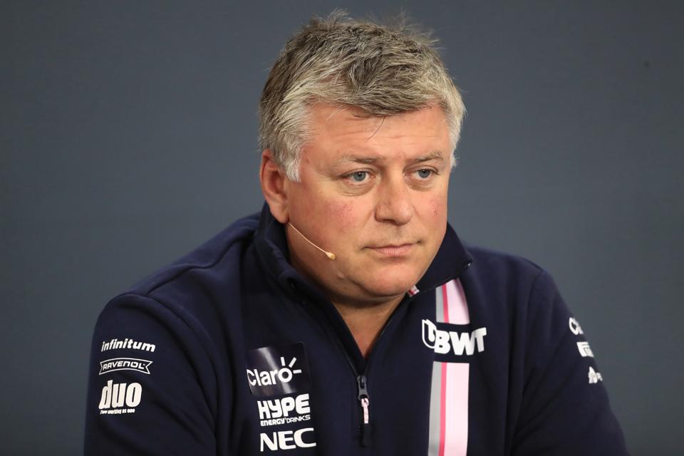 Otmar Szafnauer Force India Singapore Grand Prix
