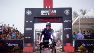 Photo of Alex Zanardi smashes world record in Ironman contest
