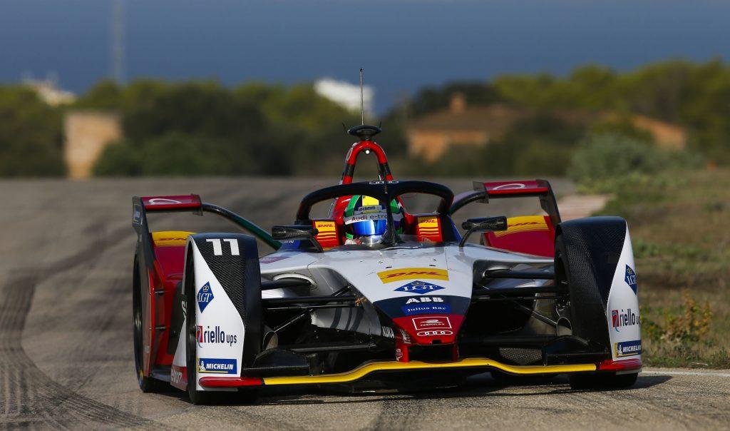 Audi launches e-tron FE05 Formula E car