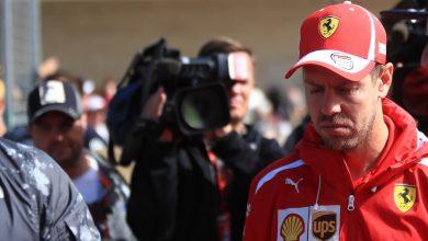 Photo of Vettel handed fine after weighbridge incident