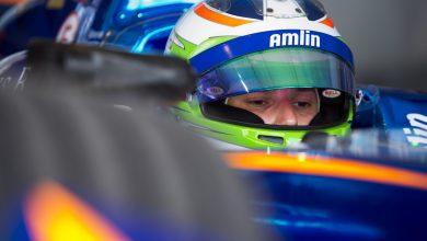 Photo of Simona de Silvestro signed as Venturi Formula E test driver
