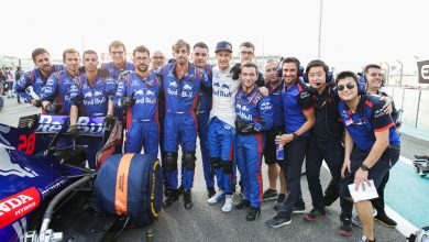 Photo of Toro Rosso issue statement to thank Brendon Hartley