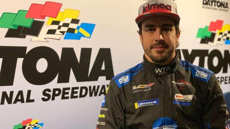 Fernando Alonso Daytona