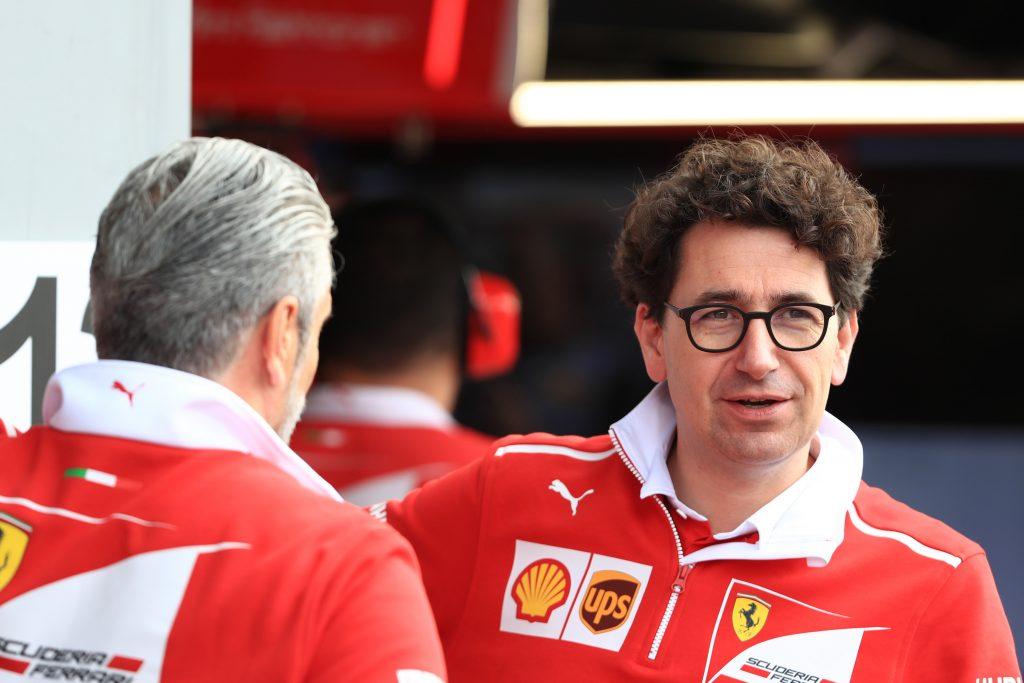 Binotto Arrivabene Ferrari