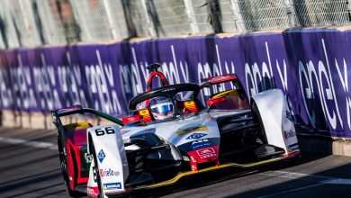 Photo of Mueller tops Formula E Marrakesh rookie test for Audi