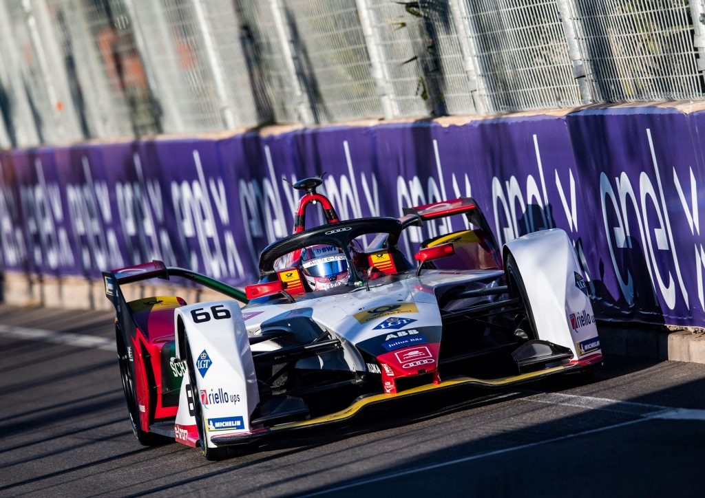 Mueller tops Formula E Marrakesh rookie test for Audi