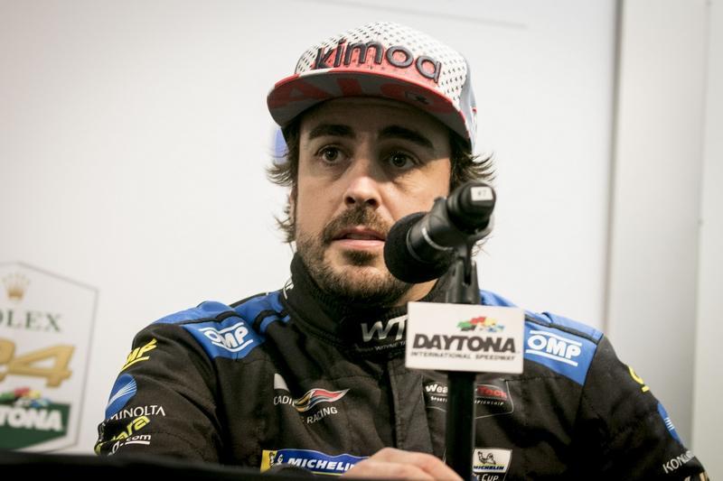 Wayne Taylor Racing Alonso F1