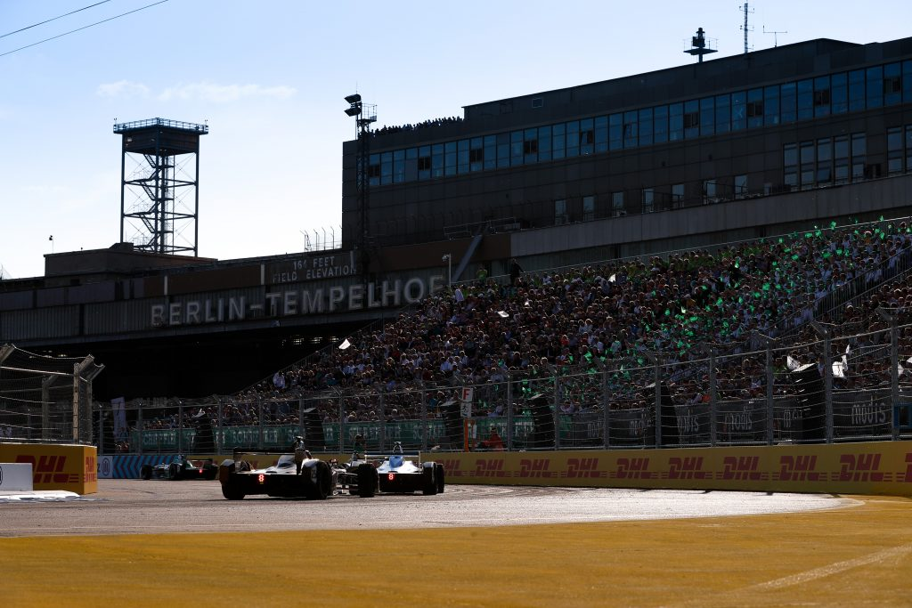 Nico Rosberg launches Greentech festival for Berlin FE race