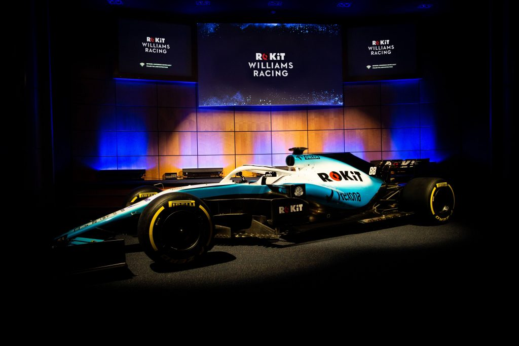 Williams show off new look for 2019 car