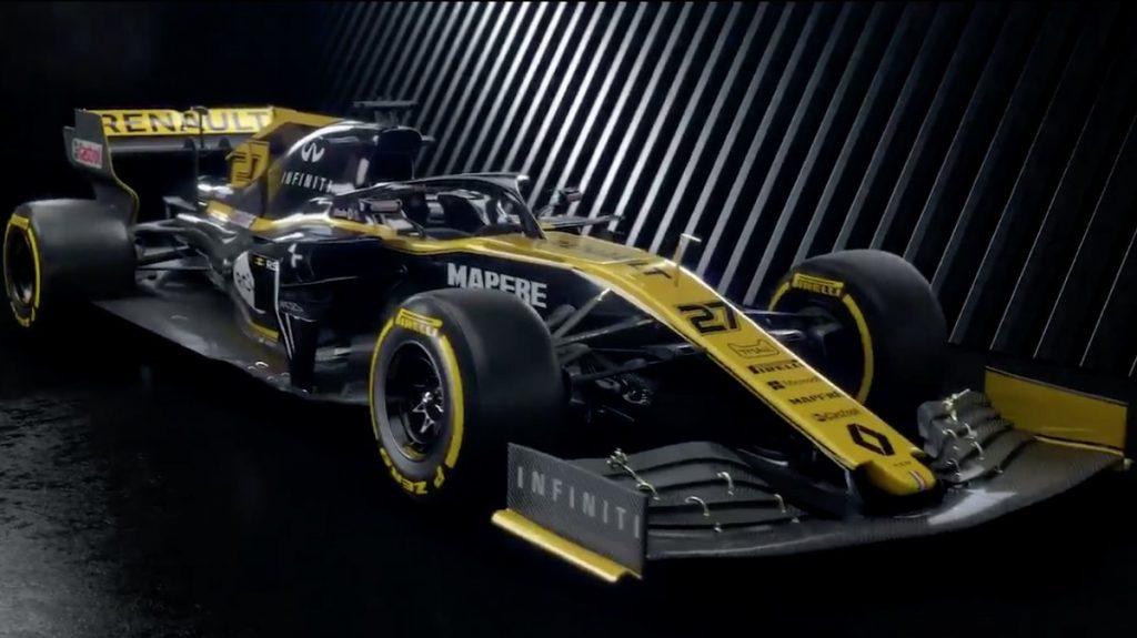 Renault F1 Formula 1 car launch 2020 launch date