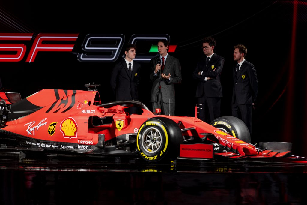 Formula 1 Watch The 2020 Ferrari F1 Car Launch Live