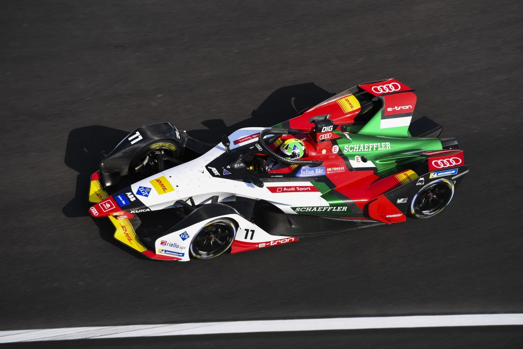 Di Grassi beats Wehrlein at final corner of Mexico Formula E race