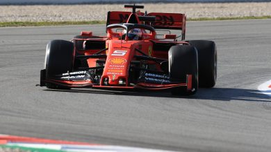 Photo of Vettel ends marathon day fastest for Ferrari – Test Day One (PM)