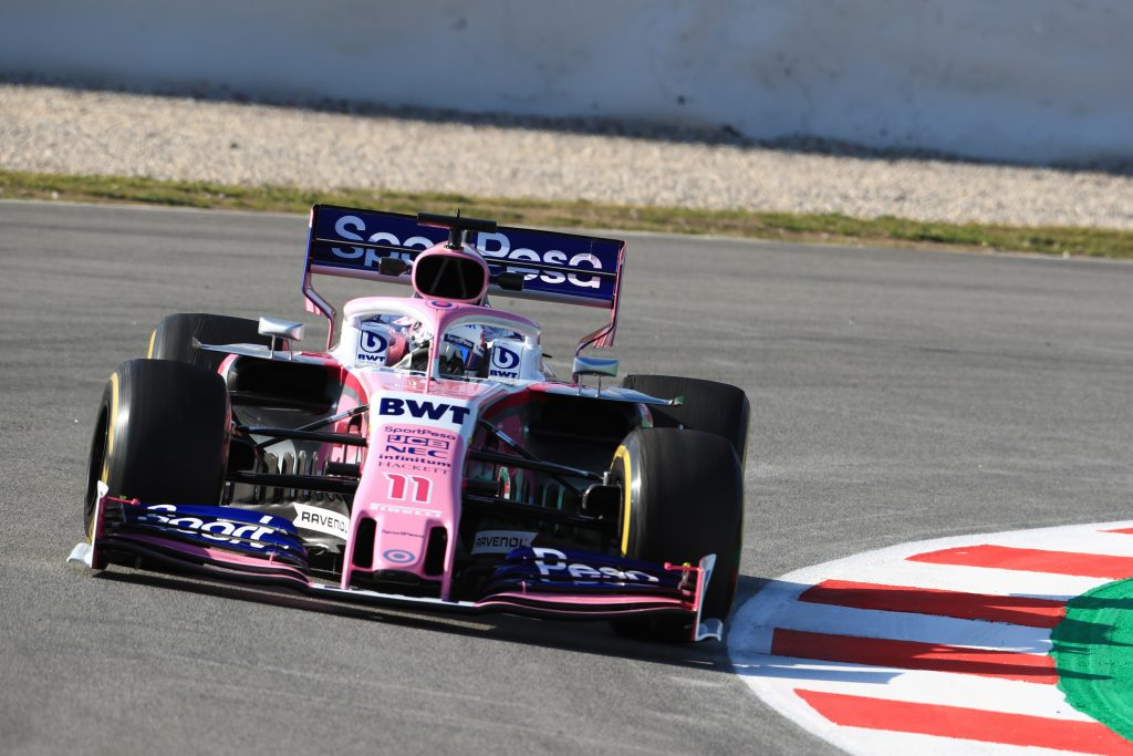 Perez results racing point testing