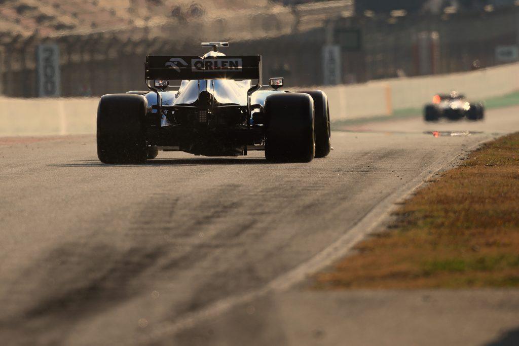 Williams testing