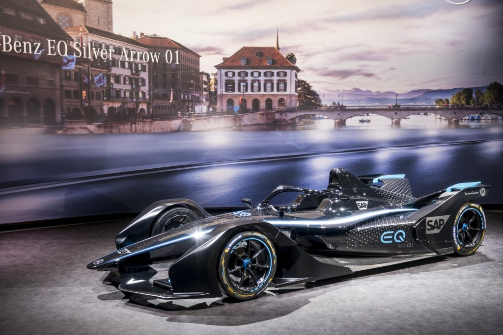 Mercedes EQ Formula E frankfurt wolff